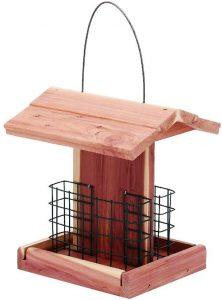 Homes Garden Suet Woodpecker Feeder
