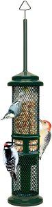 Squirrel Proof Bird Feeder w/ Woodpecker Friendly Tail