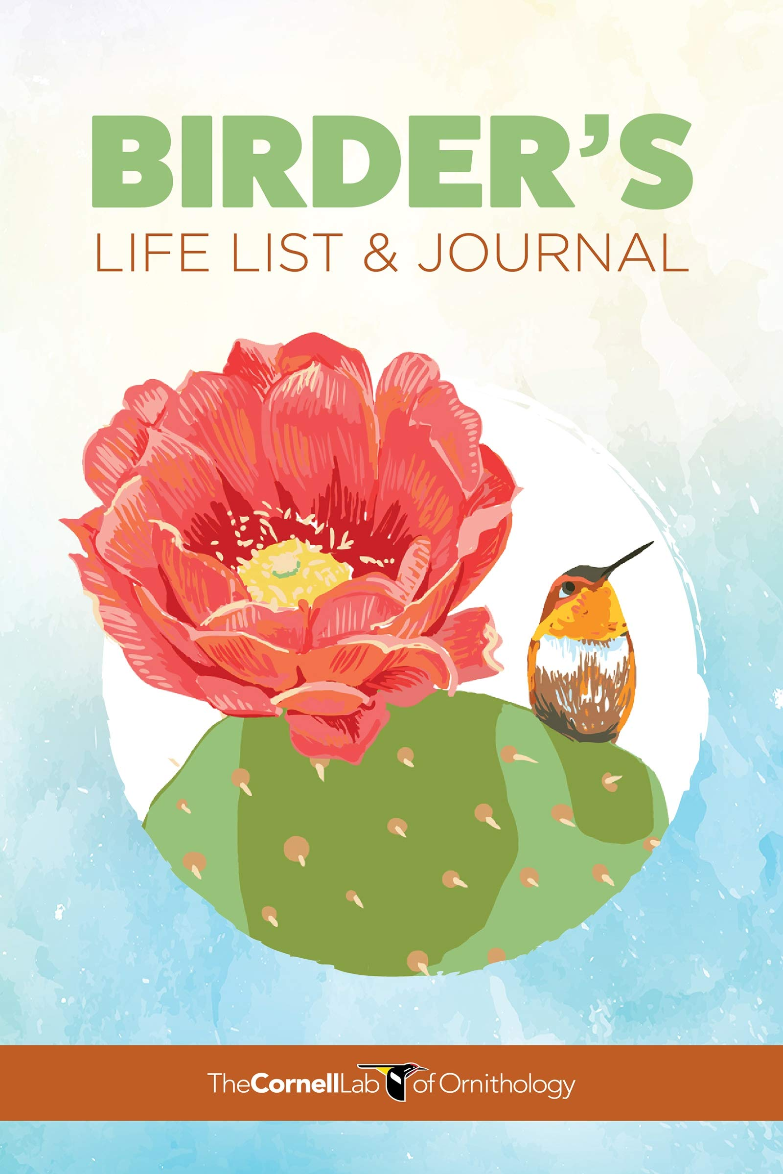 Birder's Life List Journal