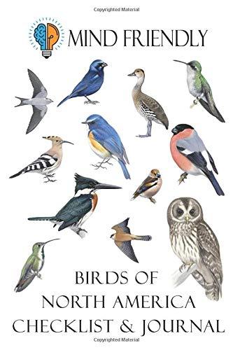 North America Bird Checklist and Birding Journal